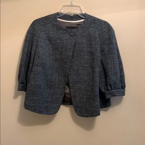 Banana Republic grey wool jacket